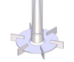 Turbine Rushton TR